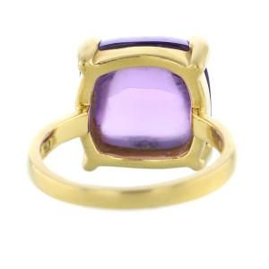 Tiffany & Co. 18k Gold Paloma Picasso Sugar Stack Amethyst Ring