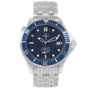 Omega Seamaster 40 Years James Bond 2537.80.00 41.00 mm Mens Watch