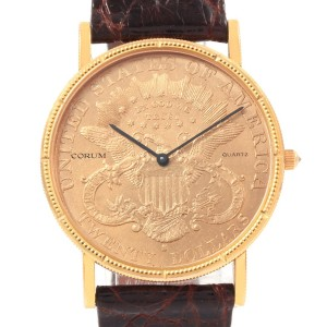 Corum 20 Dollars Double Eagle 36mm Mens Watch