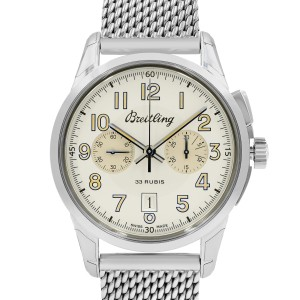Breitling Transocean AB141112/G799-154A 43mm Mens Watch