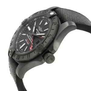 Breitling Avenger II GMT Volcano M3239010/BF04-253S 43mm Mens Watch