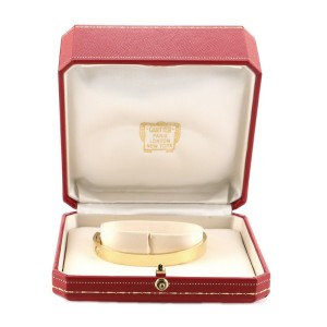 Cartier Anniversary Bracelet 18K Yellow Gold and Diamond