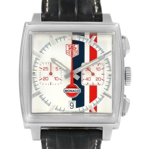 Tag Heuer Monaco McQueen Chronograph CW2118 Limited Edition Watch