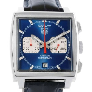 Tag Heuer Monaco CW2113 38.0mm Mens Watch