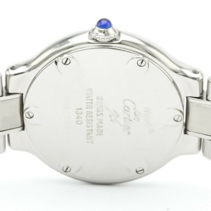 Polished CARTIER Must 21 Stainless Steel Quartz Ladies Watch W10109T2