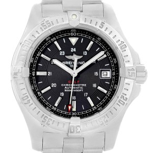 Breitling Colt 41mm Black Dial Automatic Steel Mens Watch A17380
