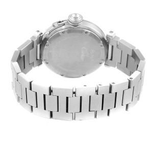 Cartier Pasha C Midsize Big Date Automatic Steel Unisex Watch W31044M7