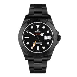 Rolex Explorer II 216570 DLC-PVD
