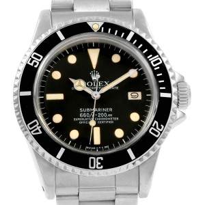 Rolex Submariner Vintage Stainless Steel Mens Watch 1680