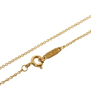 TIFFANY & Co. 18k Pink Gold 16.1 Chain Necklace