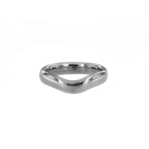 Tiffany & Co. Elsa Peretti Silver Curved Band Ring