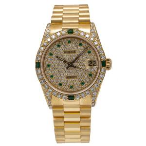 Rolex Datejust 68278 31mm Womens Watch