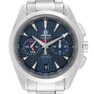 Omega Seamaster Aqua Terra GMT Chronograph Watch 231.10.43.52.03.001