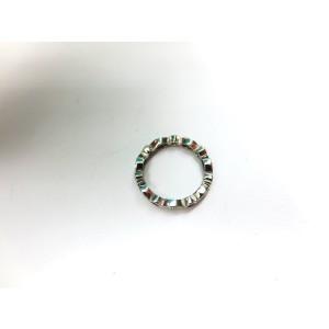 Tiffany & Co. Platinum Swing Pink Sapphires Diamonds Band Ring