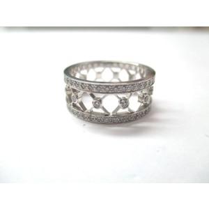 Tiffany & Co. Voile Platinum Diamond Wedding Band