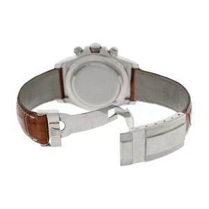 Rolex Daytona 116519 White Gold White Dial Tachymeter Bezel Mens Watch