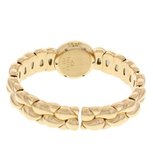 Chopard Ladies 18K Yellow Gold Diamond Casmir Bangle Watch