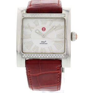 Michele MW2 Diamond 71-7000 Stainless Steel Ladies Watch