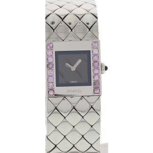 Chanel Matelasse 1993 Stainless Steel Womens Watch