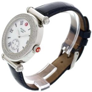 Michele MW16A01A2025 Caber Diamond Bezel Stainless Steel Ladies Watch
