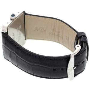 Cartier 2600 Tank Divan Sapphire Stainless Steel Unisex Watch