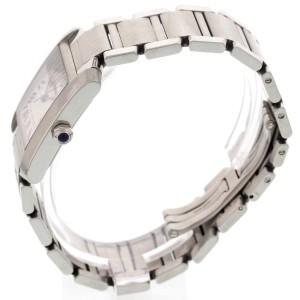 Cartier 2302 Tank Francaise Stainless Steel Watch
