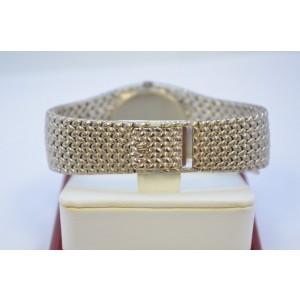 Audemars Piguet 18K White Gold Blue Diamond 34mm Mens Vintage Watch