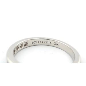 Tiffany & Co. Platinum 0.33 Ct Diamond Shared Eternity Wedding Band Ring Size 6
