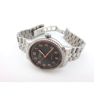 Tiffany & Co. CT60 Stainless Steel Diamonds Gray Dial 34mm Womens Watch