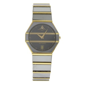 Baume & Mercier Avant-Garde 5138.038 18K Yellow Gold & Tungsten Quartz 32mm Unisex Watch
