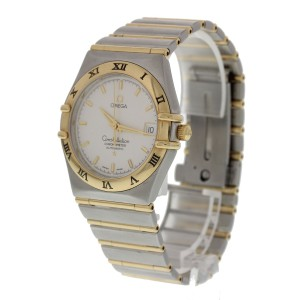 Omega Constellation 368.1201 Two Tone Stainless Steel Automatic 36mm Mens Watch