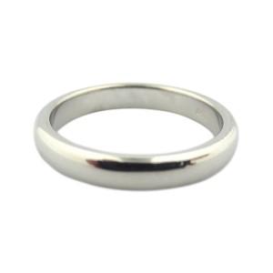 Tiffany & Co. Lucida Platinum Wedding Band Ring Size 5.5