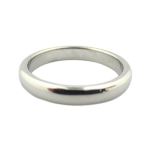Tiffany & Co. Lucida Platinum Wedding Band Ring Size 8