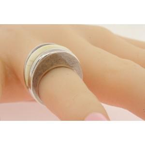 Joachim S'Paliu Sterling Silver Ring Domed Band sz 4.75 Vintage Rare