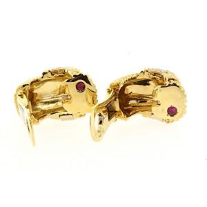 Roberto Coin Huggie Diamond Earrings