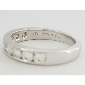 Tiffany & Co. Platinum Diamond Wedding Ring Size 6
