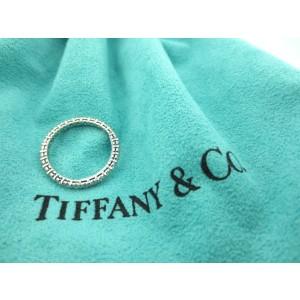 Tiffany & Co. Eternity Wedding Band Platinum Diamond Size 7