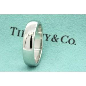 Tiffany & Co. Platinum Wedding Ring Size 10