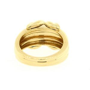 Tiffany & Co. Signature 18K Yellow Gold Ring Size 7