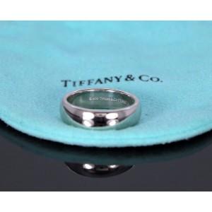 Tiffany & Co. Lucida Platinum Wedding Ring Size 8