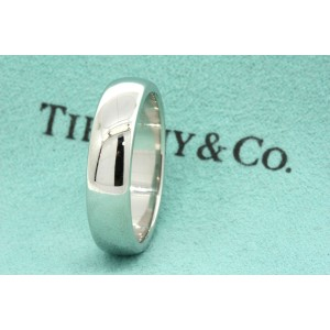 Tiffany & Co. Lucida Platinum Wedding Ring Size 9