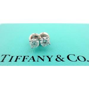 Tiffany & Co. Earrings Platinum 0.50ctw. Diamond