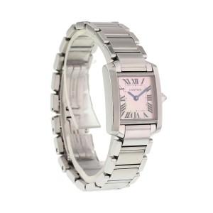 Cartier Tank Francaise 2384 20mm Women's Watch