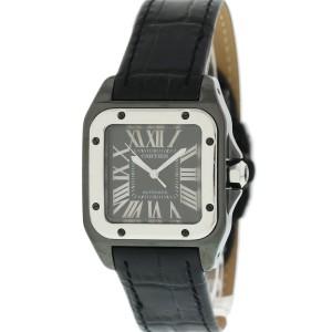 Cartier Santos 100 2878 35mm Mens Watch