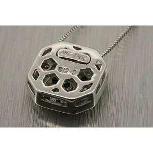Levian 14K White Gold Chocolate Diamond Pendant