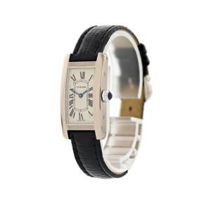 Cartier Tank Americaine 2489 19mm Womens Watch
