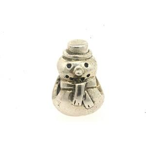 Pandora Charm ALE Sterling Silver Charm Snowman Christmas 790374