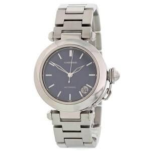 Cartier Pasha C 1031 Blue Dial Midsize Watch