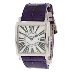 Franck Muller Master Square 6002 Mens Watch Original Box and Papers