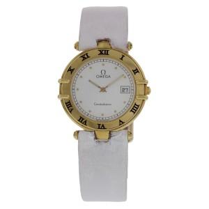 Omega Constellation 18K Yellow Gold Watch